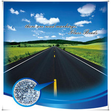 Supply for Road Marking Drop-on Glass Beads Reflective Glass Beads for Road Marking export to Saint Vincent and the Grenadines Exporter