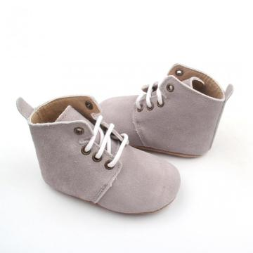 Ankle Baby Infant Leather Boots for Newborn
