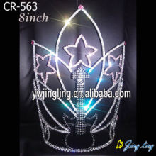 Wholesale Rhinestone Guitar Star Music Pageant Crowns