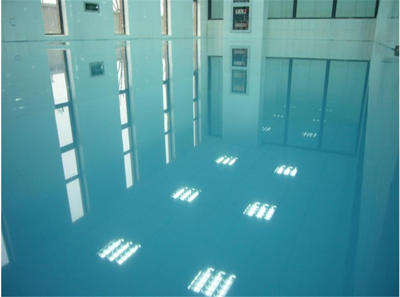 self leveling clear epoxy