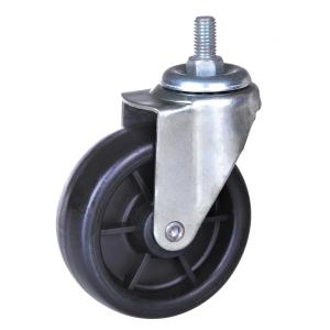 4inch PP swivel caster no brake