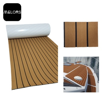 EVA Inflatable Fishing Boat Faux Teak Sheet