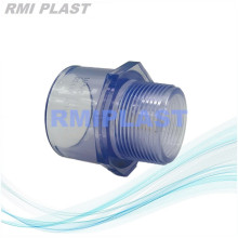 Male Adaptor Clear PVC ANSI