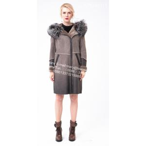 Short Women Spain Merino Shearling Thick Coat
