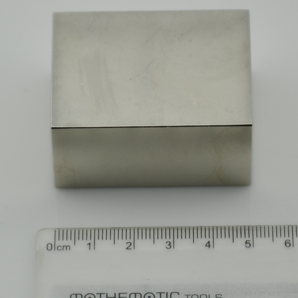 Sintered block magnet