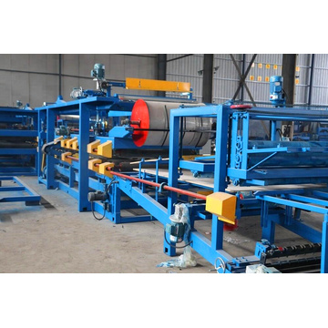 EPS sandwich roofing sheet production line
