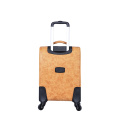 New design strong handle PU luggage set