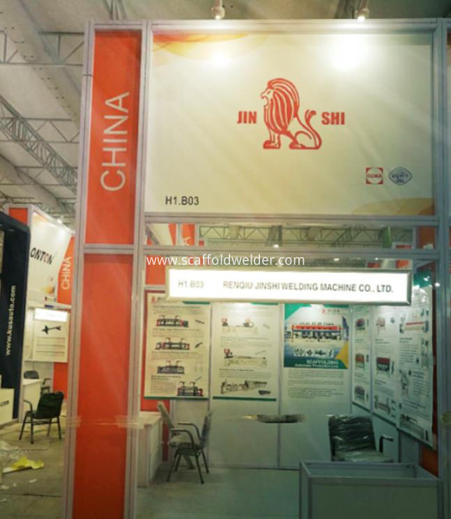 Bauma India-Jinshi Welding Machine