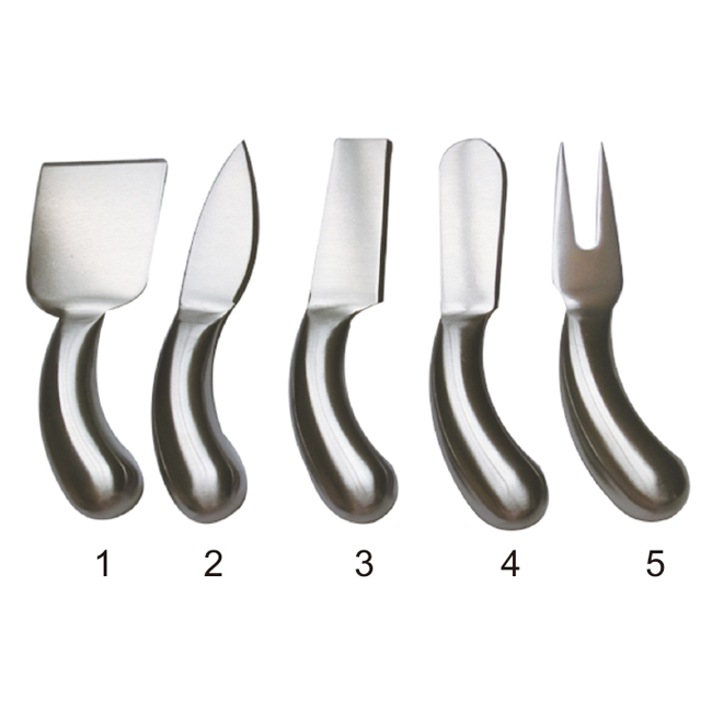 5 Pcs Cheese Tool Set With Nice Printing