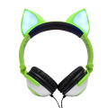 Wholesale newest earphone headset headphone with light