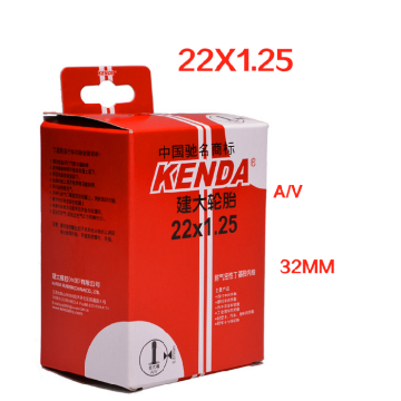 KENDA 22 inch AV&FV bicycle bike inner tube