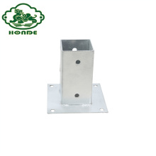 Hot New Products for Post Anchor Base Hot Sale Ground Screw Pole Anchor Post export to Christmas Island Manufacturers