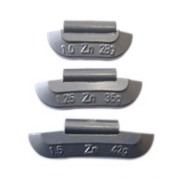 Zinc Clip-on Balance Weight for Steel Wheel ounce