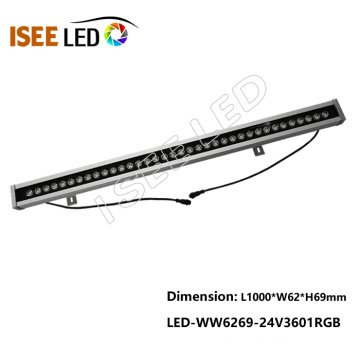 Building Decoration 1m 36w DMX Led Wall Washer