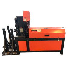 Zero error steel bar straightening and cutting machine