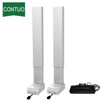 Adjustable Height 2 Stage Electric Desk Lifting Column