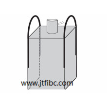 Leading for Bulk Bag Containers 2-loops U-Panel Jumbo Bag export to Tonga Factories