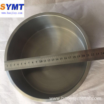 forging machining bright Mo1 99.95% molybdenum crucible