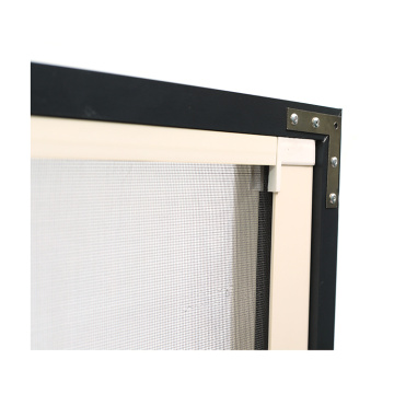 Retractable window with aluminum frame 0967