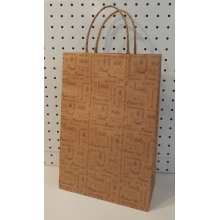 Brown Gift Bags With Handles