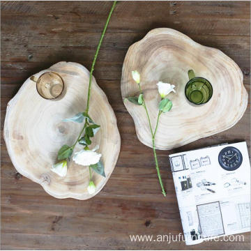 Factory directly provide for Serving Tray With Handles Afternoon Tea paulownia 100% solid Wood Tray export to Djibouti Wholesale