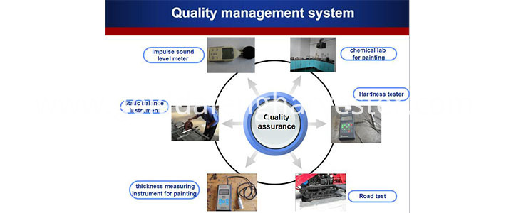 130hp Wheeled Tractor Quality Management System002 710 300