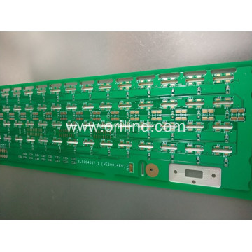 Controlled deep milling circuit board