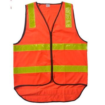 Road high visibility garment