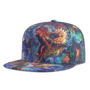 Manufactur standard for Hip Hop Cap Sublimation Printing Microfiber Hip Hop Flat Peak Cap. supply to Bahamas Manufacturer
