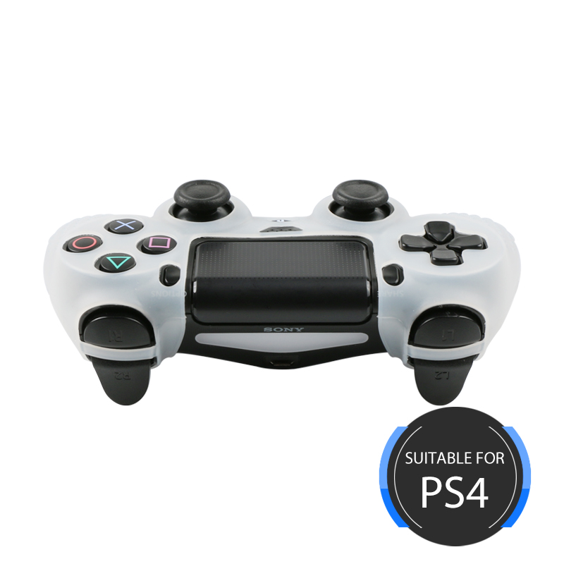 Silicone Gel Rubber Case for PS4 Controller
