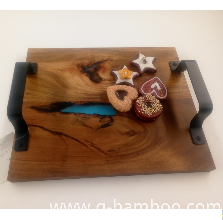 Wooden Food Tray
