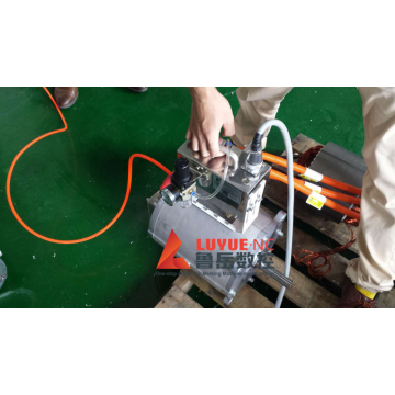 Hand-held flange electric marking machine