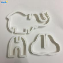 3D Animal plastic Elephant Cookie Cutter Set
