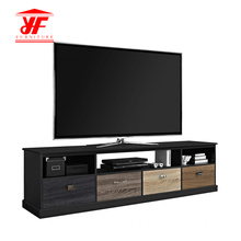 Long Wood Trade Show TV Stand Table