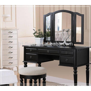 cheap MDF wood dresser design dressing table