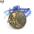Custom metal antique bronze quality zinc alloy medal