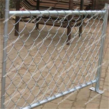 diamond shape chain link fence