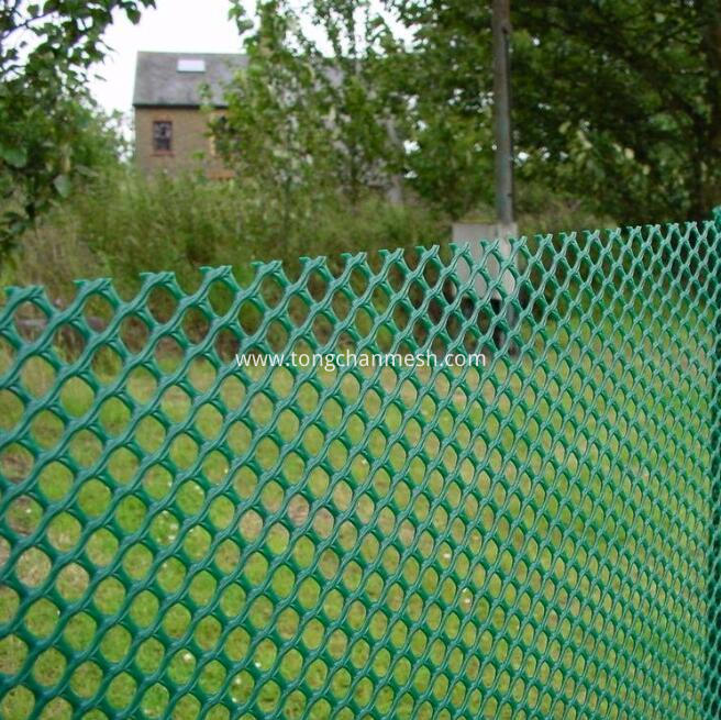 Plastic Stretched Fence