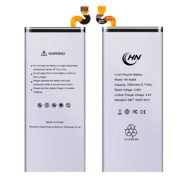 Long life Samsung note 8 android phone battery