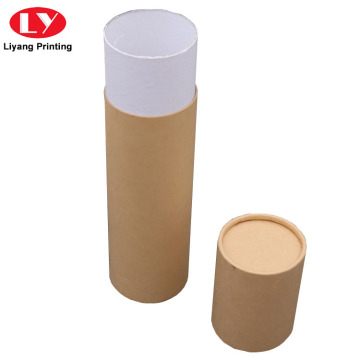 Cylinder Round Paper Kraft Tube Box Packaging