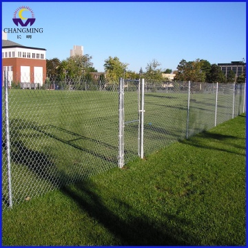 Galvanized Sports Court Chain Link Fencing