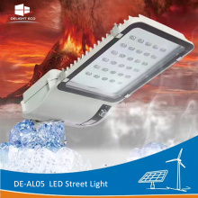 Customized for China Led Street Light,Led Solar Street Light,Led Road Street Light Supplier DELIGHT DE-AL05 Lithium Battery Built-in Parking Lot Light export to Gambia Factory
