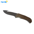 Ridge Free Engraving Gut Hook huting knife