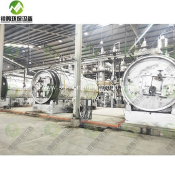 Automatic Crude Oil and Distillation Plant