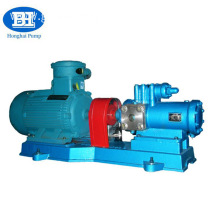 three screw type Insulated asphalt bitumen pump