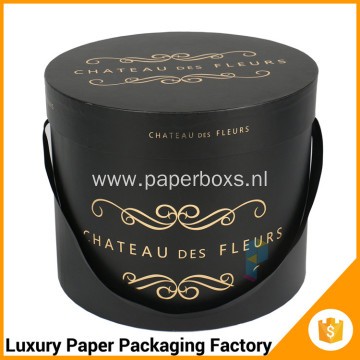 Luxury packing flower box paper