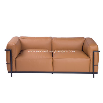 Le Corbusier LC3 Grand Modele Two-Seat Sofa