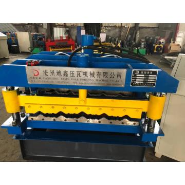 Steel Aluzinc Roof Glazed Tile Roll Forming Machine