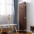 Blinds wooden screen room divider,Neo-Chinese style solid wood folding indoor decoration wooden screen