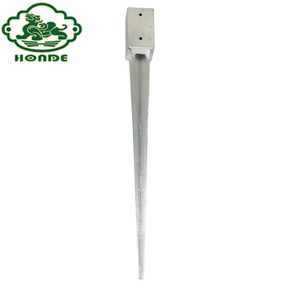 Hot Dipped Galvanized Ground Screw Post Anchor
